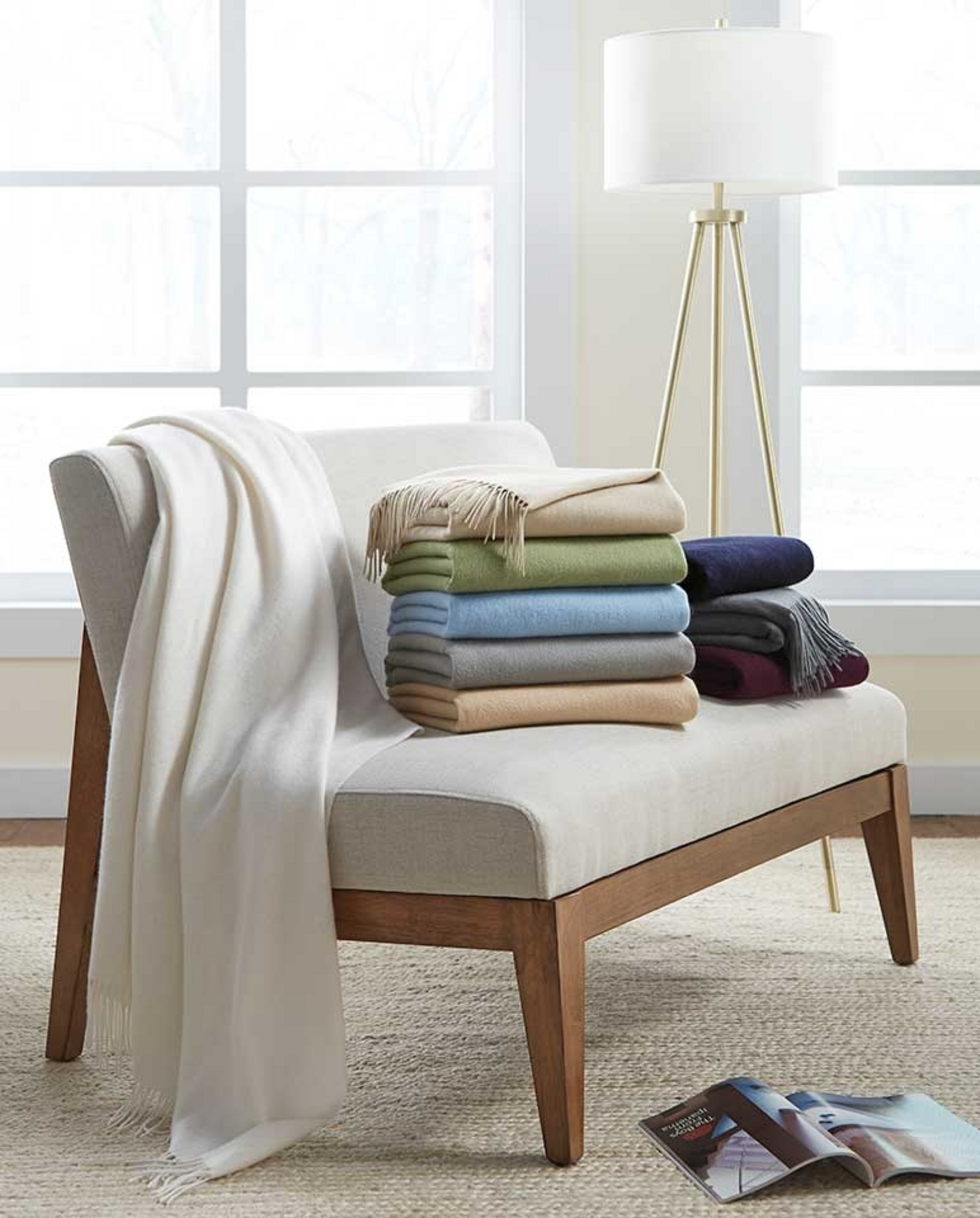Dorsey Throw by Sferra Fine Linens