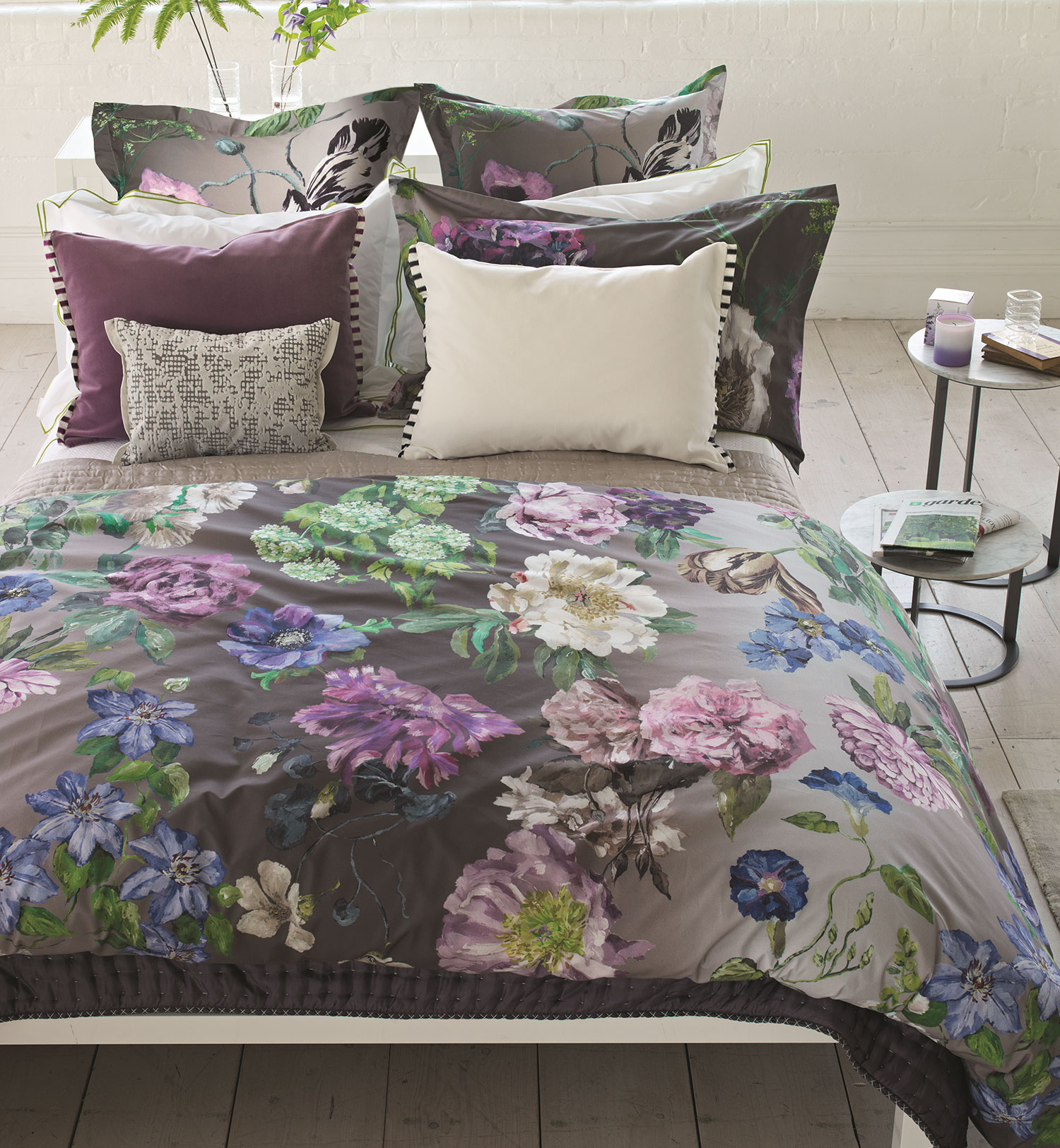 Alexandria Amethyst By Designers Guild Bedding By