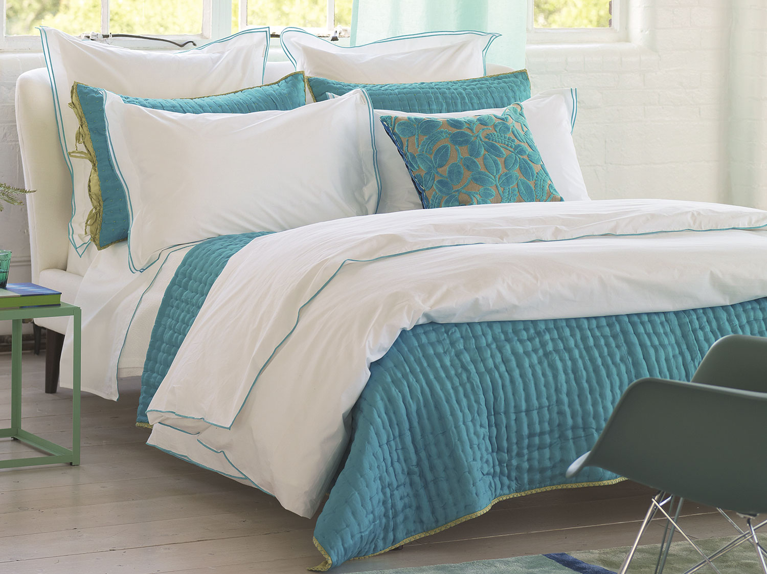 Astor Jade By Designers Guild Bedding Beddingsuperstore Com