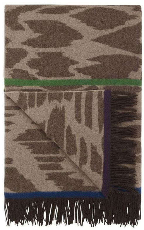 Bandala Natural Throw by Designers Guild