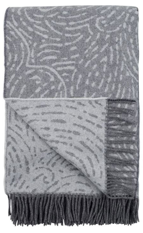 Basilica Zinc Throw by Designers Guild