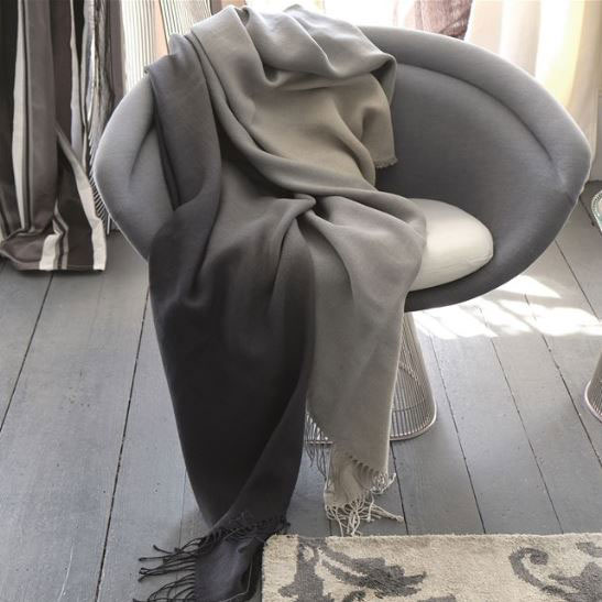 Padua Noir Throw by Designers Guild