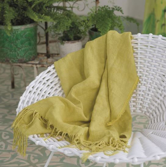 Sienna Citrus Throw by Designers Guild