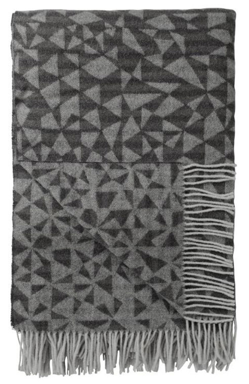 Voysey Charcoal Throw by Designers Guild