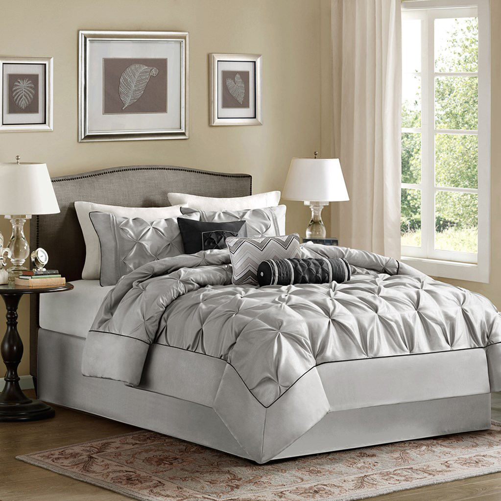 Laurel Grey By Madison Park Beddingsuperstore Com