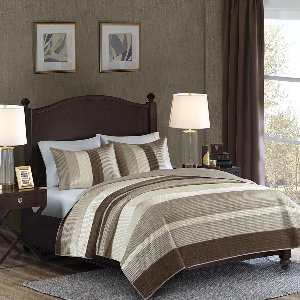 Kensington Taupe By Madison Park Beddingsuperstore Com