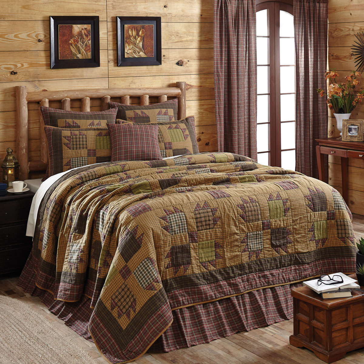 Canavar Ridge By Vhc Brands Quilts Beddingsuperstore Com