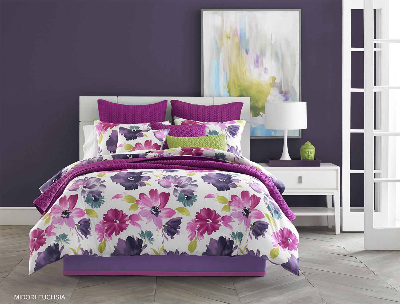 Midori Fuchsia By J Queen New York Beddingsuperstore Com