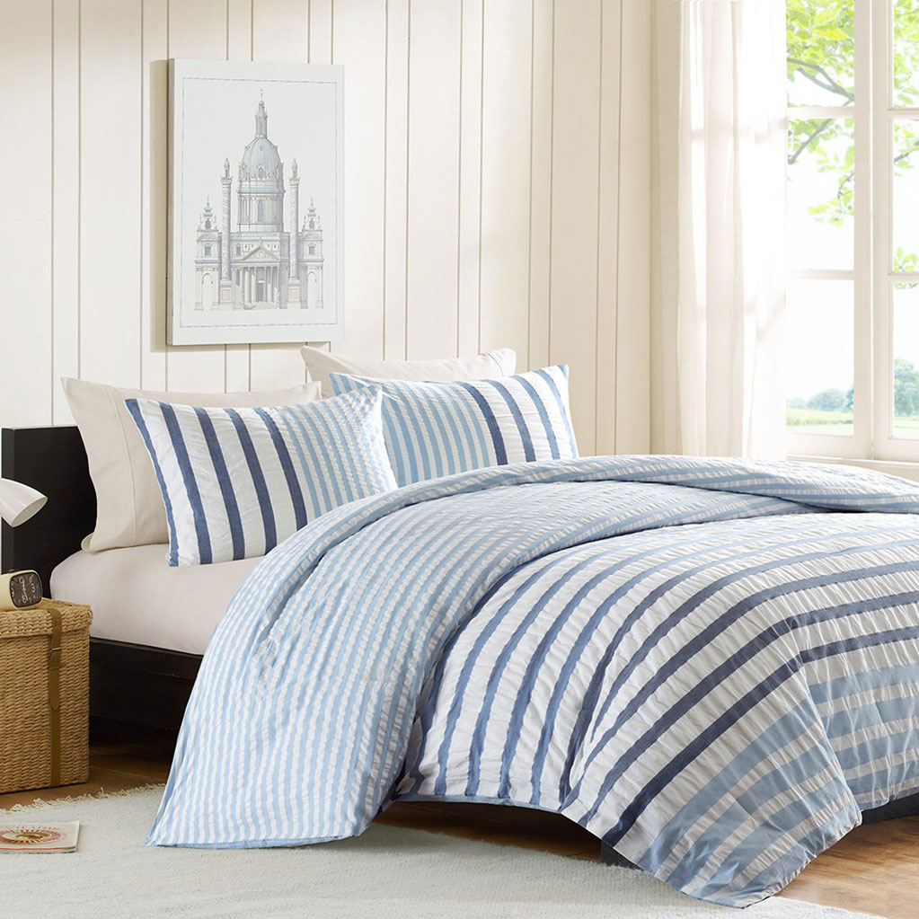 Sutton Blue By Ink Amp Ivy Bedding Beddingsuperstore Com