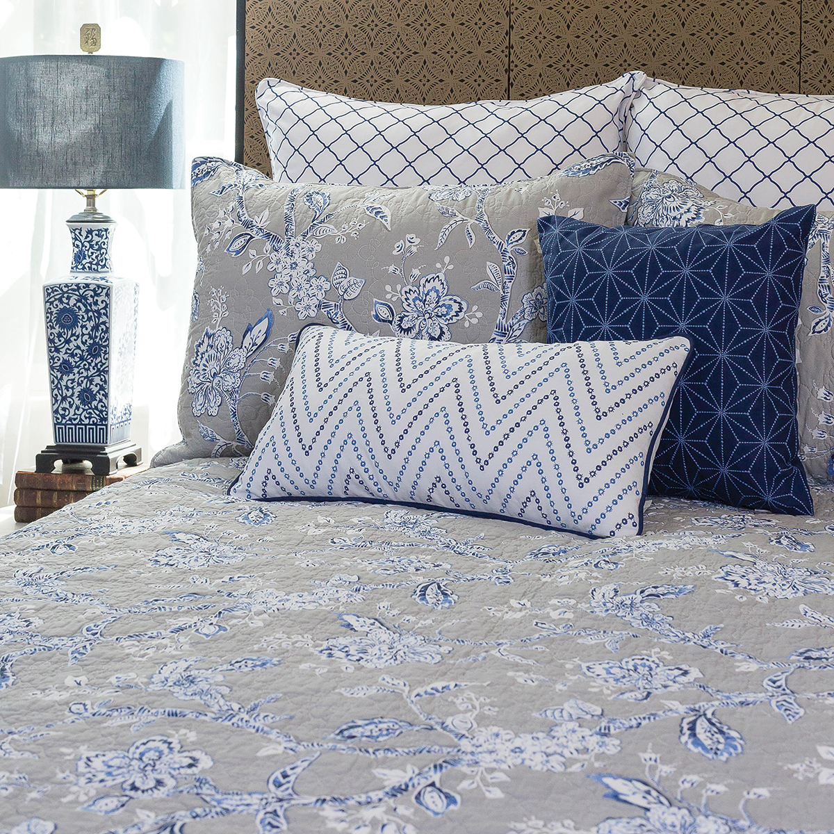 Annabelle Blue by C&F Quilts
