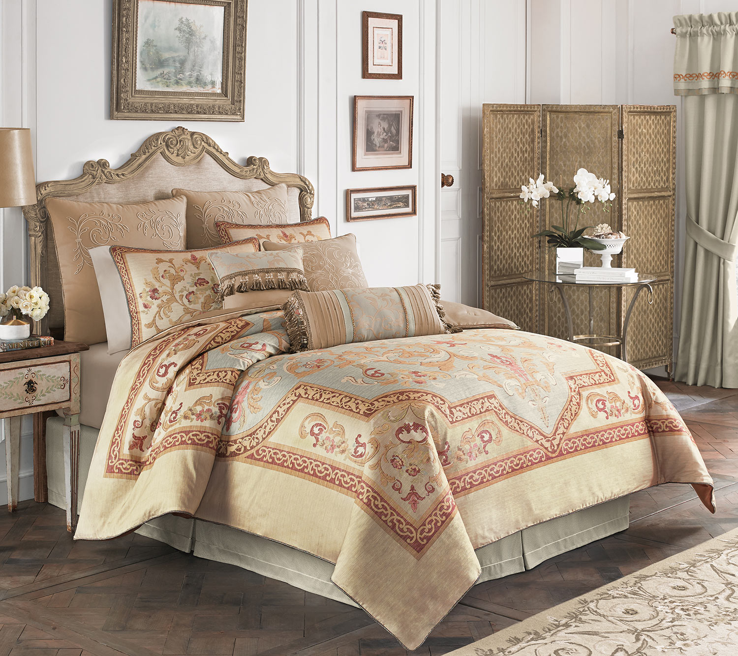 Lorraine By Croscill Home Fashions Beddingsuperstore Com
