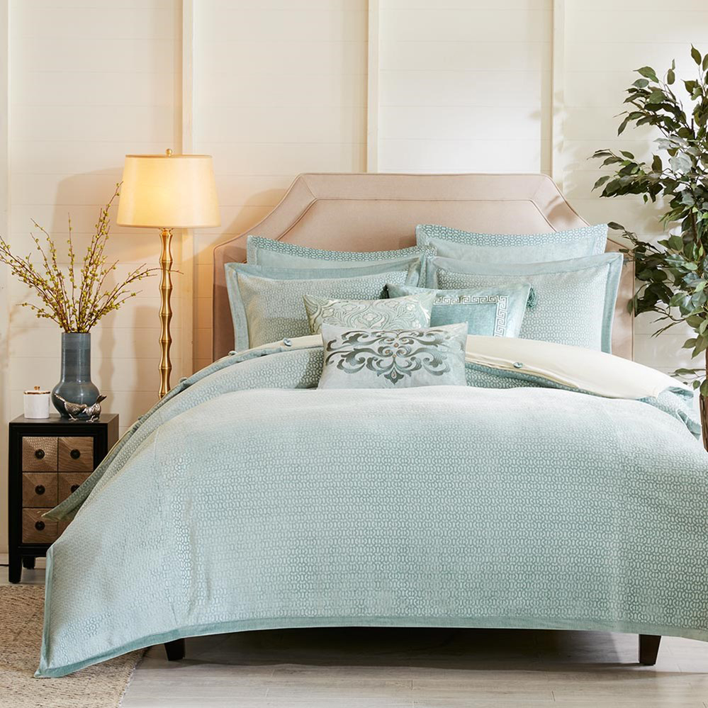 Hampton Style Airy Linens Fresh Blues: Impressions By Hampton Hill