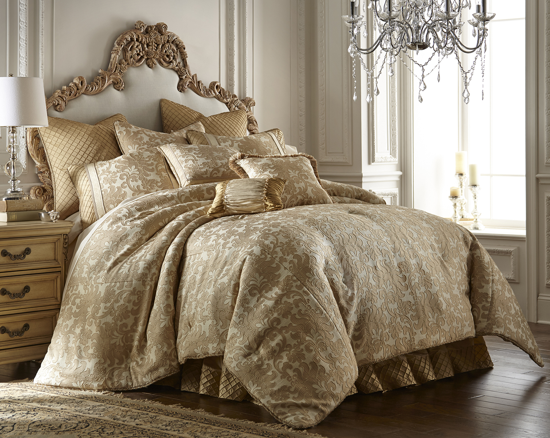 casablanca by austin horn luxury bedding. Black Bedroom Furniture Sets. Home Design Ideas