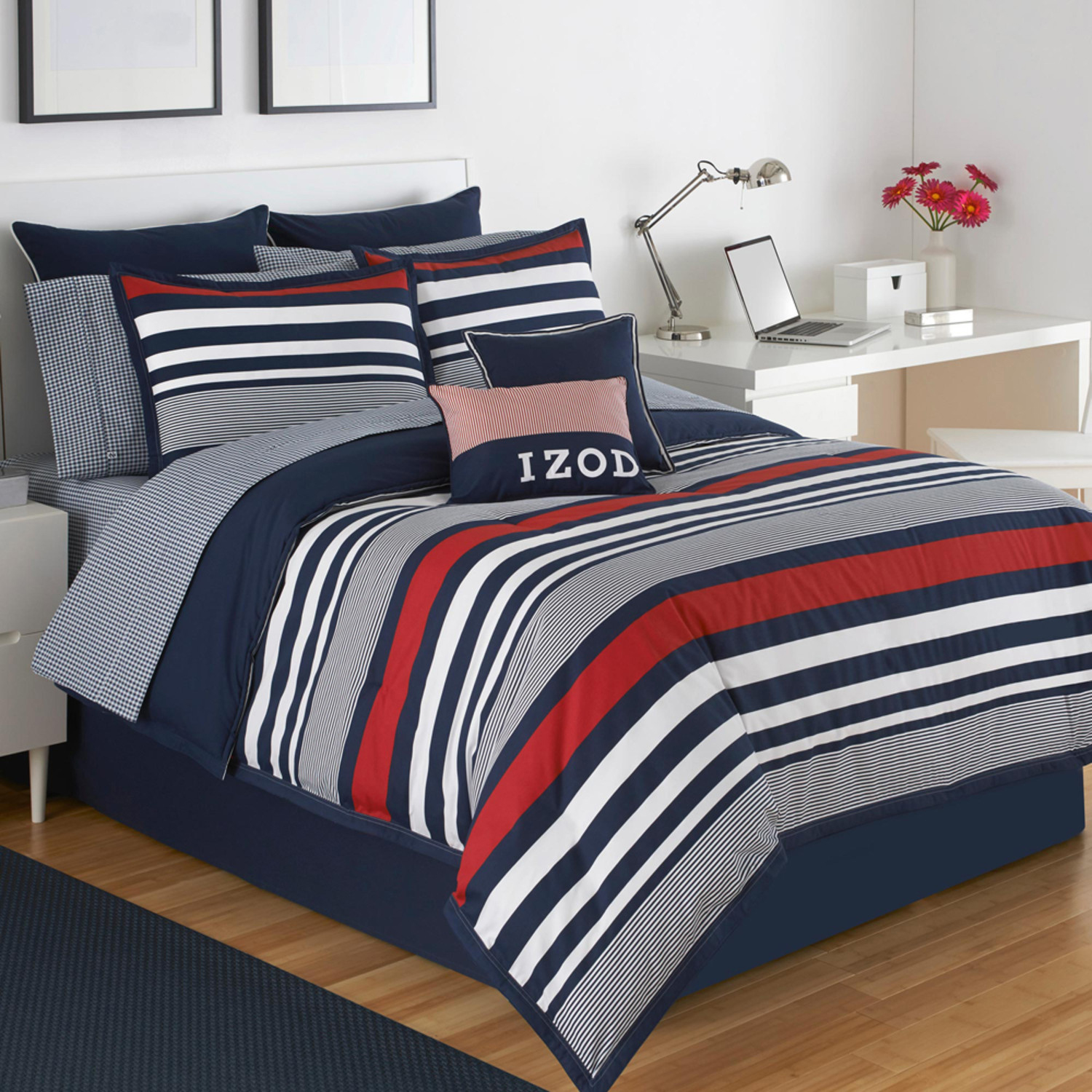 Varsity Stripe By Izod Bedding Beddingsuperstore Com