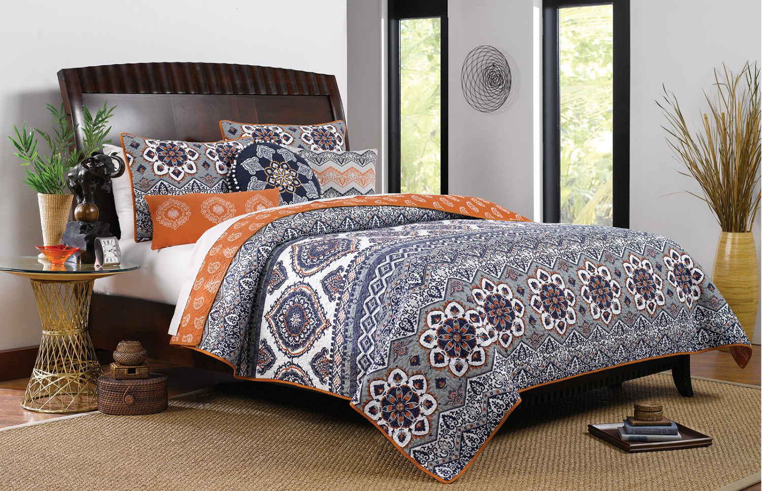 Medina Saffron By Greenland Home Fashions
