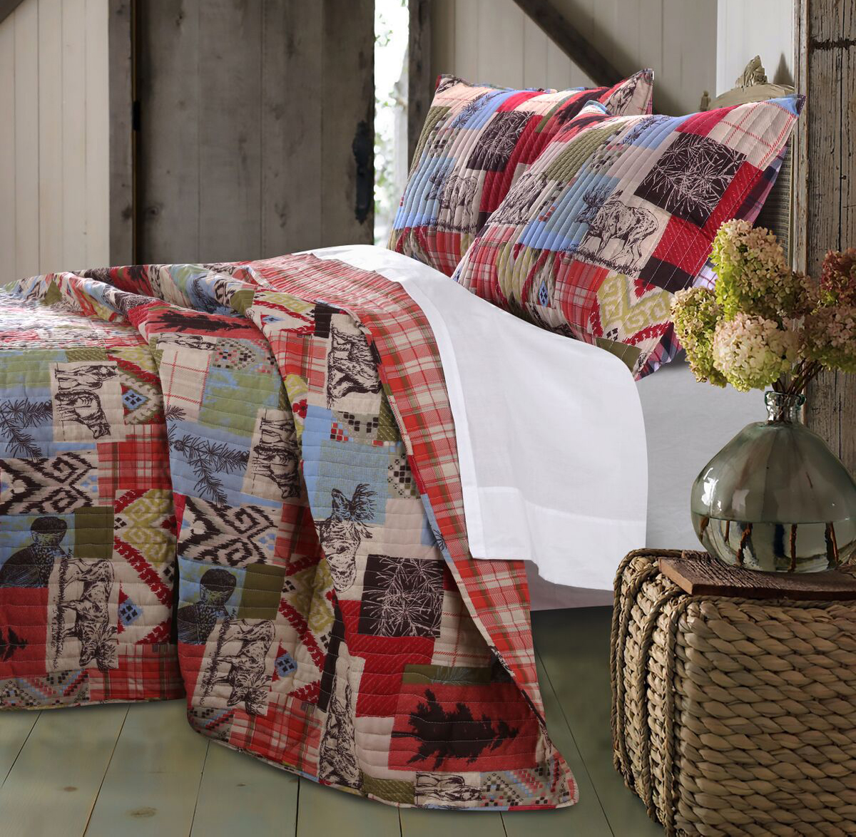 Rustic Lodge By Greenland Home Fashions