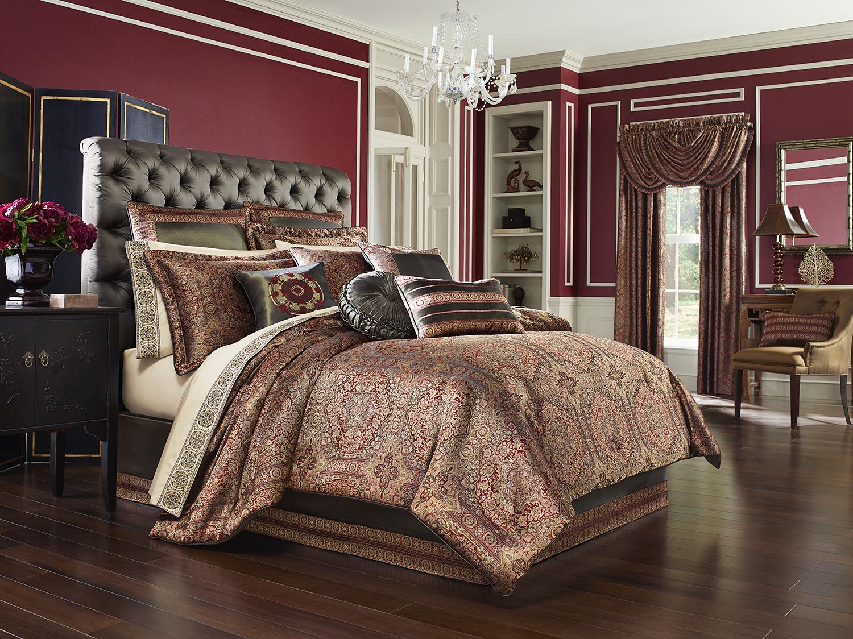 Bridgeport Red By J Queen New York Beddingsuperstore Com