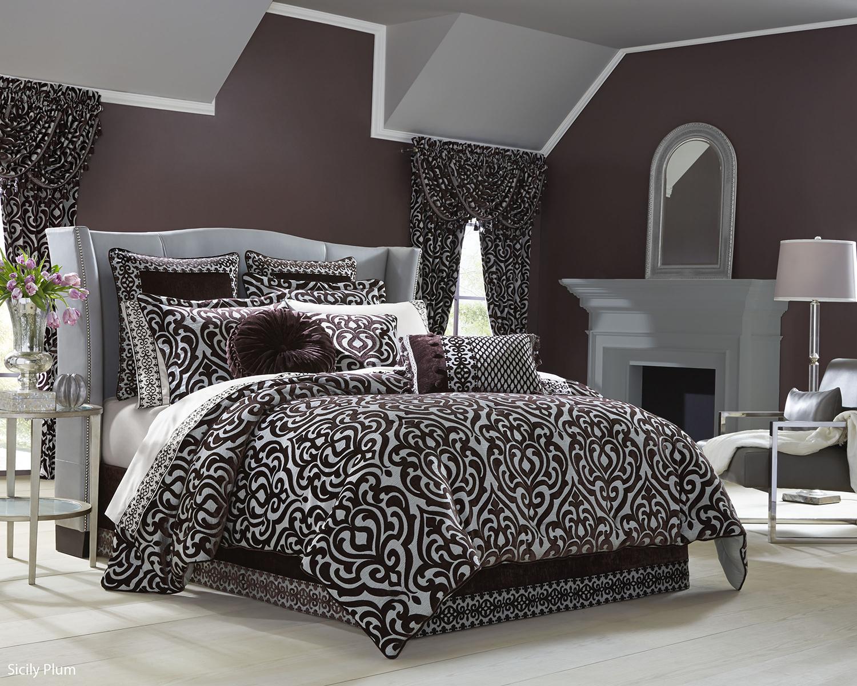 Sicily Plum By J Queen New York Beddingsuperstore Com
