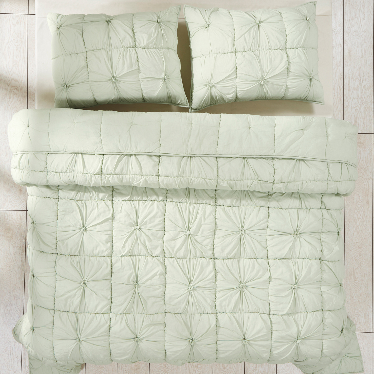 Camille Mint by VHC Brands Quilts