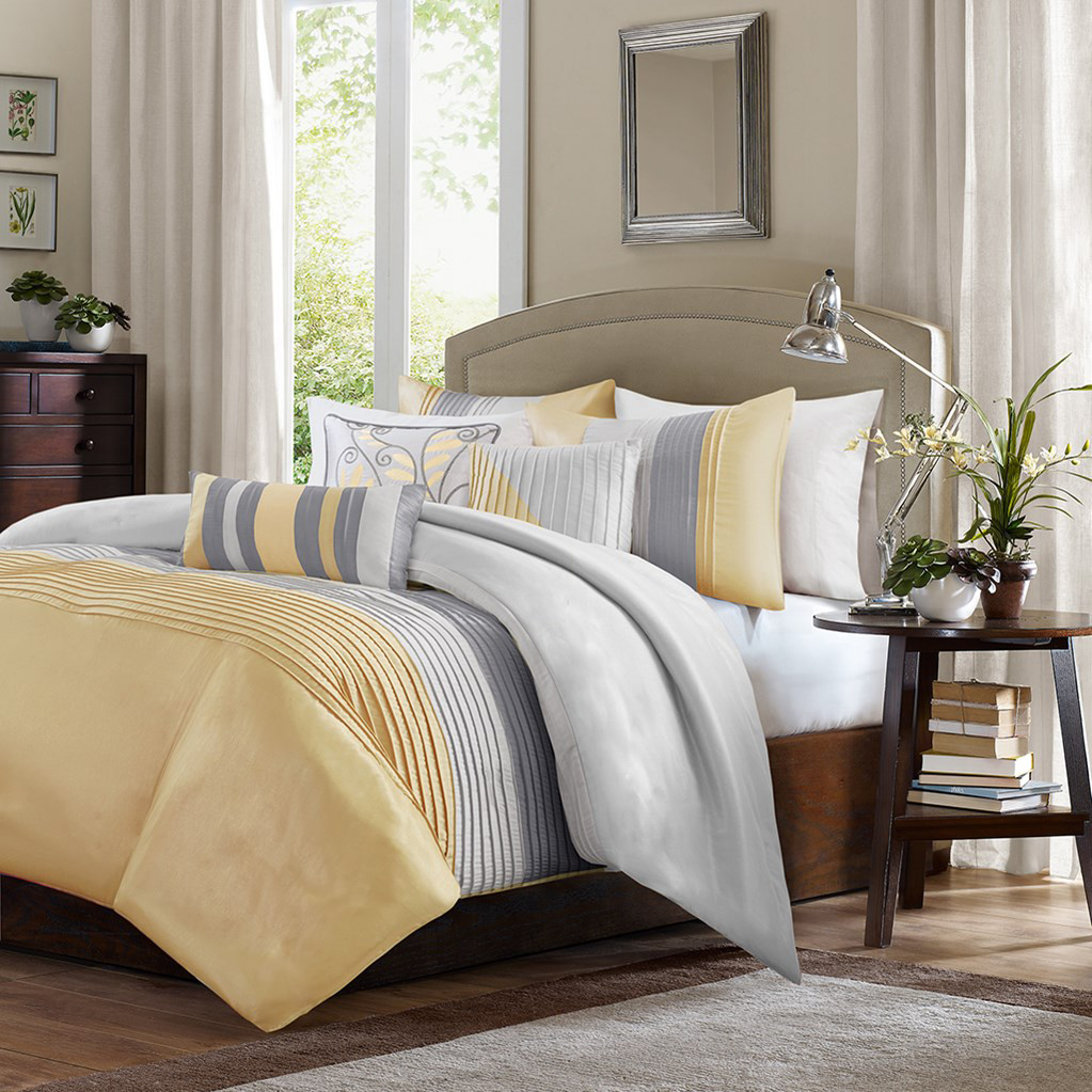 Amherst Yellow By Madison Park Beddingsuperstore Com