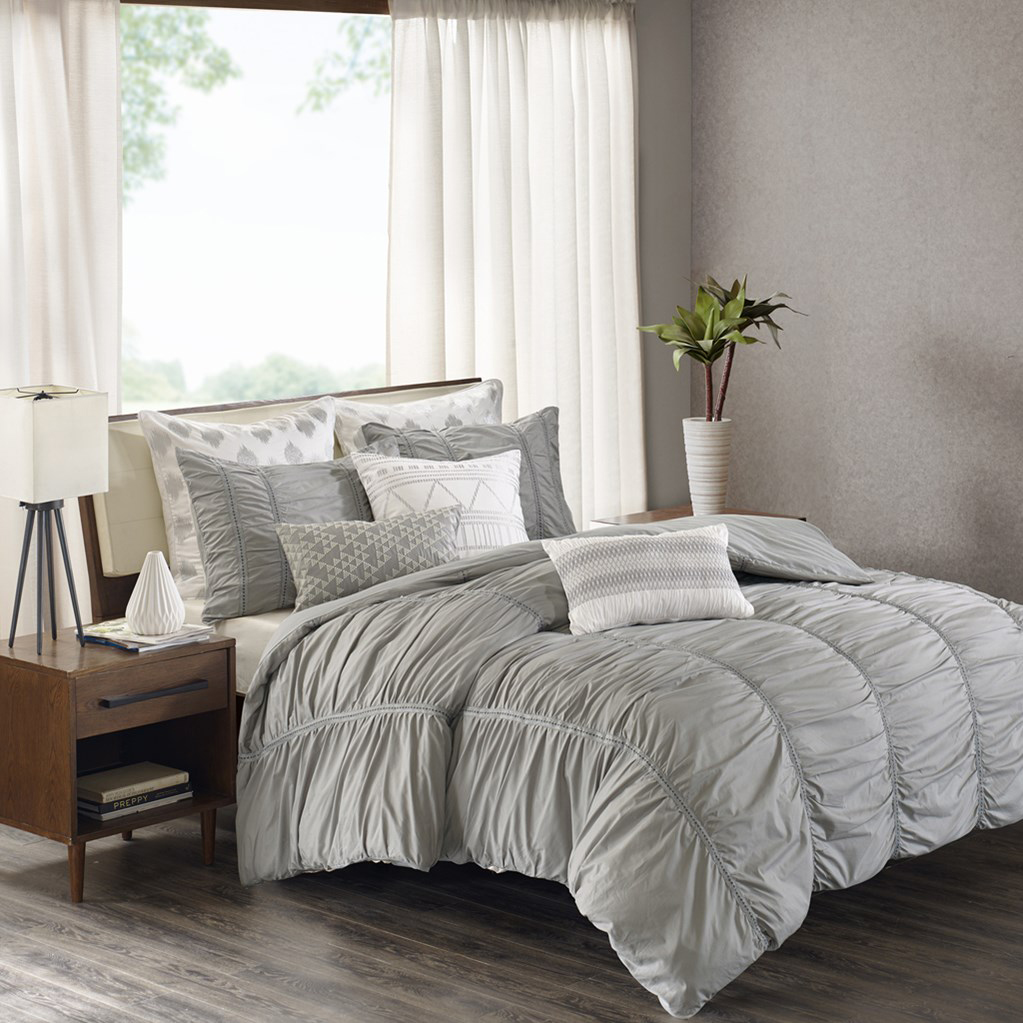 Reese Grey By Ink And Ivy Bedding Beddingsuperstore Com