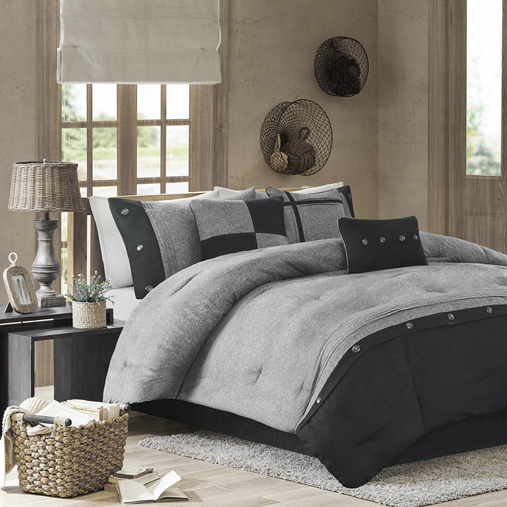 Boone Grey By Madison Park Beddingsuperstore Com
