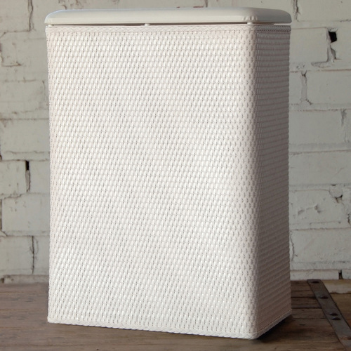 Carter Hamper White by Lamont Home