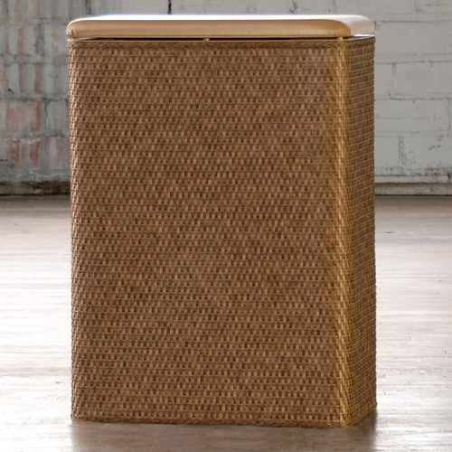 Carter Hamper Cappuccino by Lamont Home
