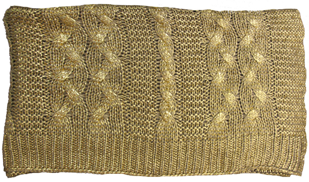 Bullion Gold Throw by Alamode Home