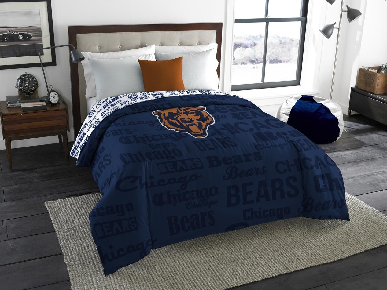 Chicago Bears Comforter Set Twin Beddingsuperstore Com
