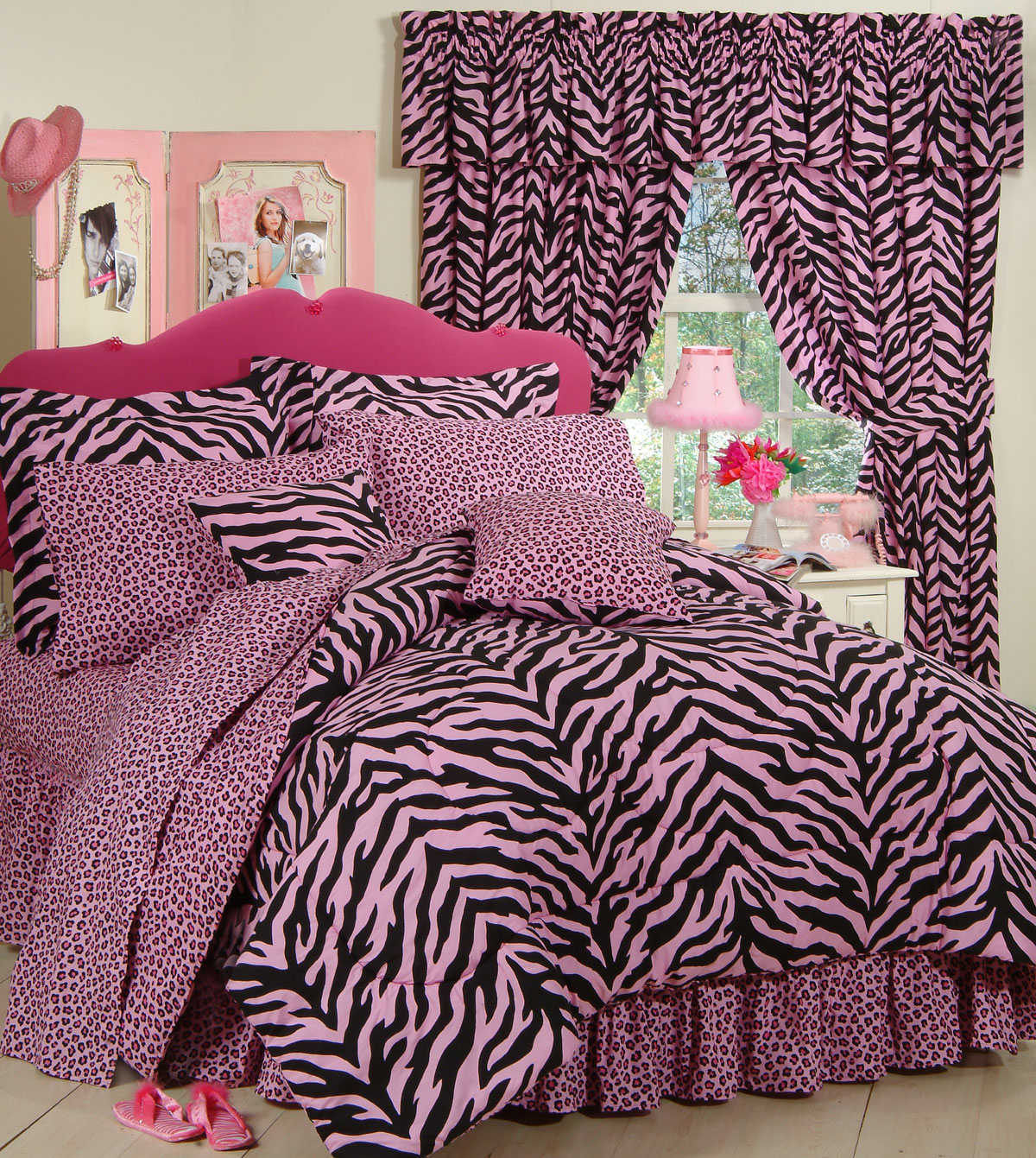 Zebra Pink By Karin Maki