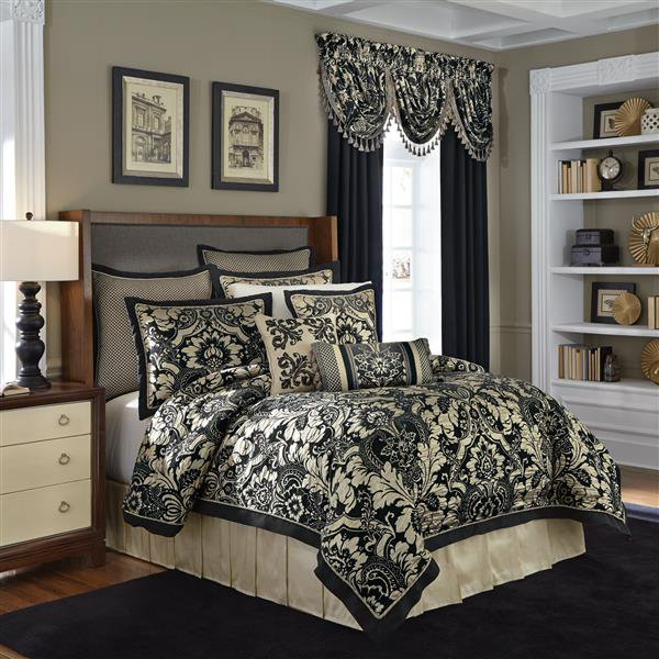 Napoleon by croscill home fashions for Designer linens and home fashions