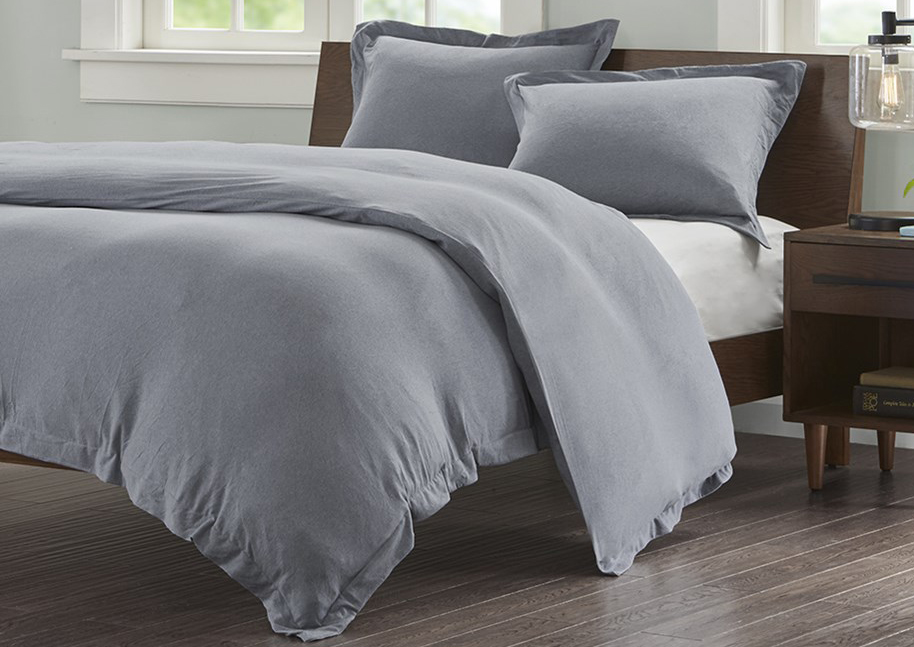 jersey grey by ink ivy bedding. Black Bedroom Furniture Sets. Home Design Ideas