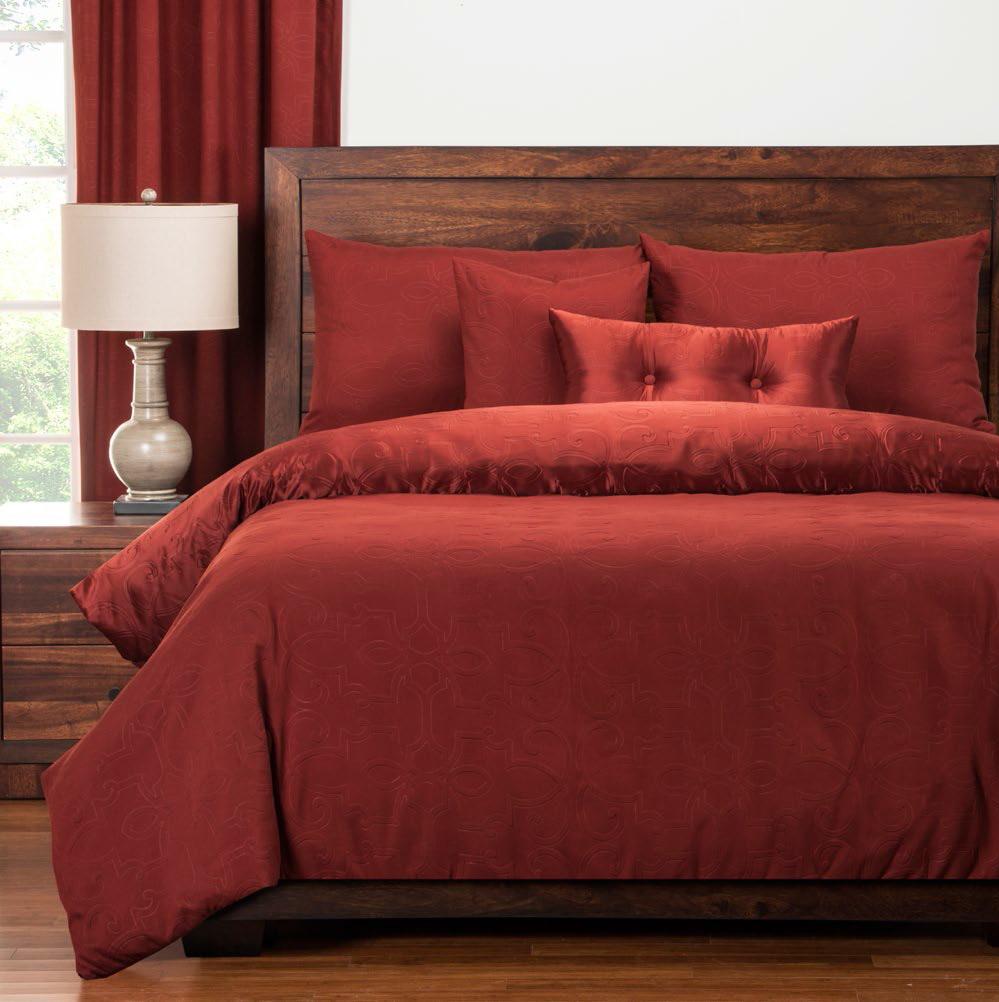 Gateway Brick Duvet Style Comforter Set 6 Piece