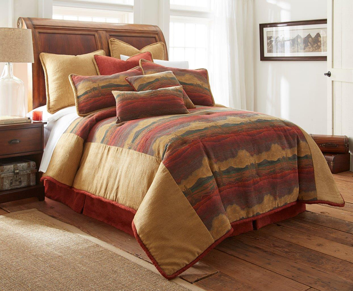 Desert Sunset By Austin Horn Luxury Bedding