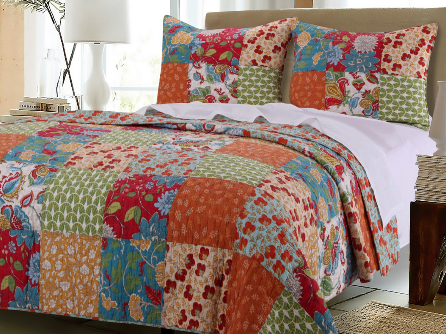 Terra Blossom By Greenland Home Fashions