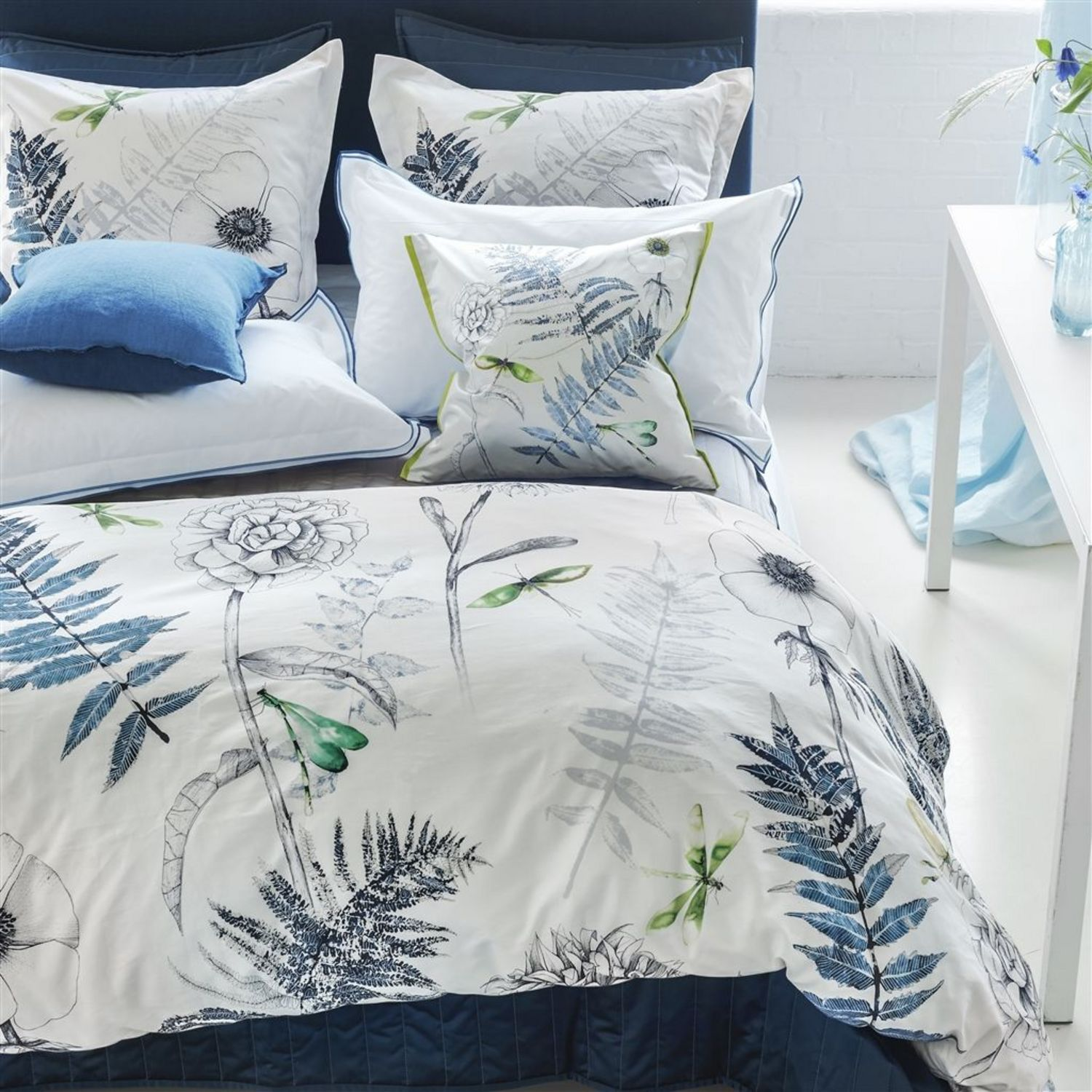 Acanthus Indigo By Designers Guild Bedding