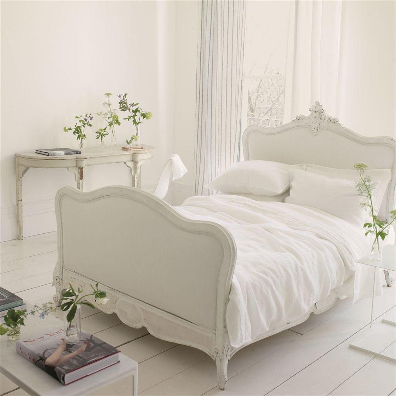 Alabaster Sheet Pattern : Biella alabaster by designers guild bedding