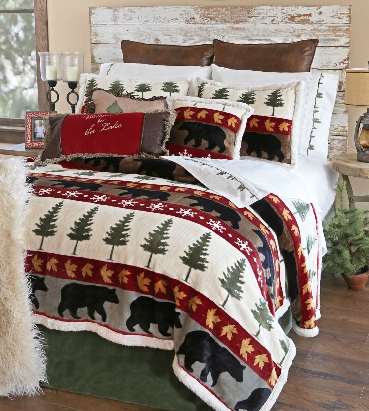 Tall Pine Carstens Lodge Bedding Beddingsuperstore Com