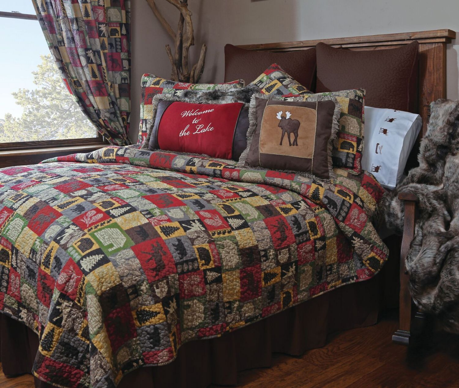 Cabin In The Woods By Carstens Lodge Bedding
