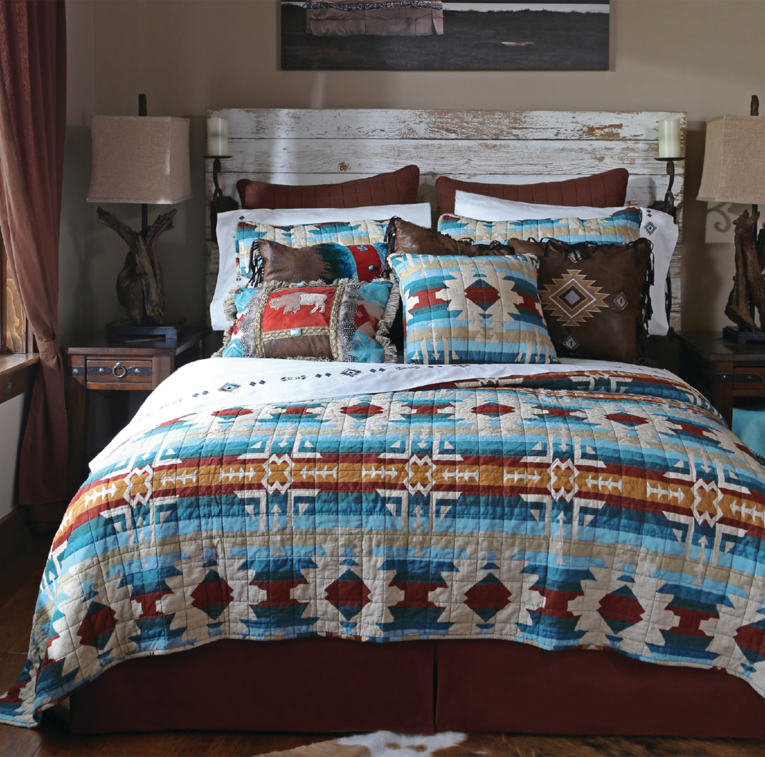 Southwest Harvest Carstens Lodge Bedding