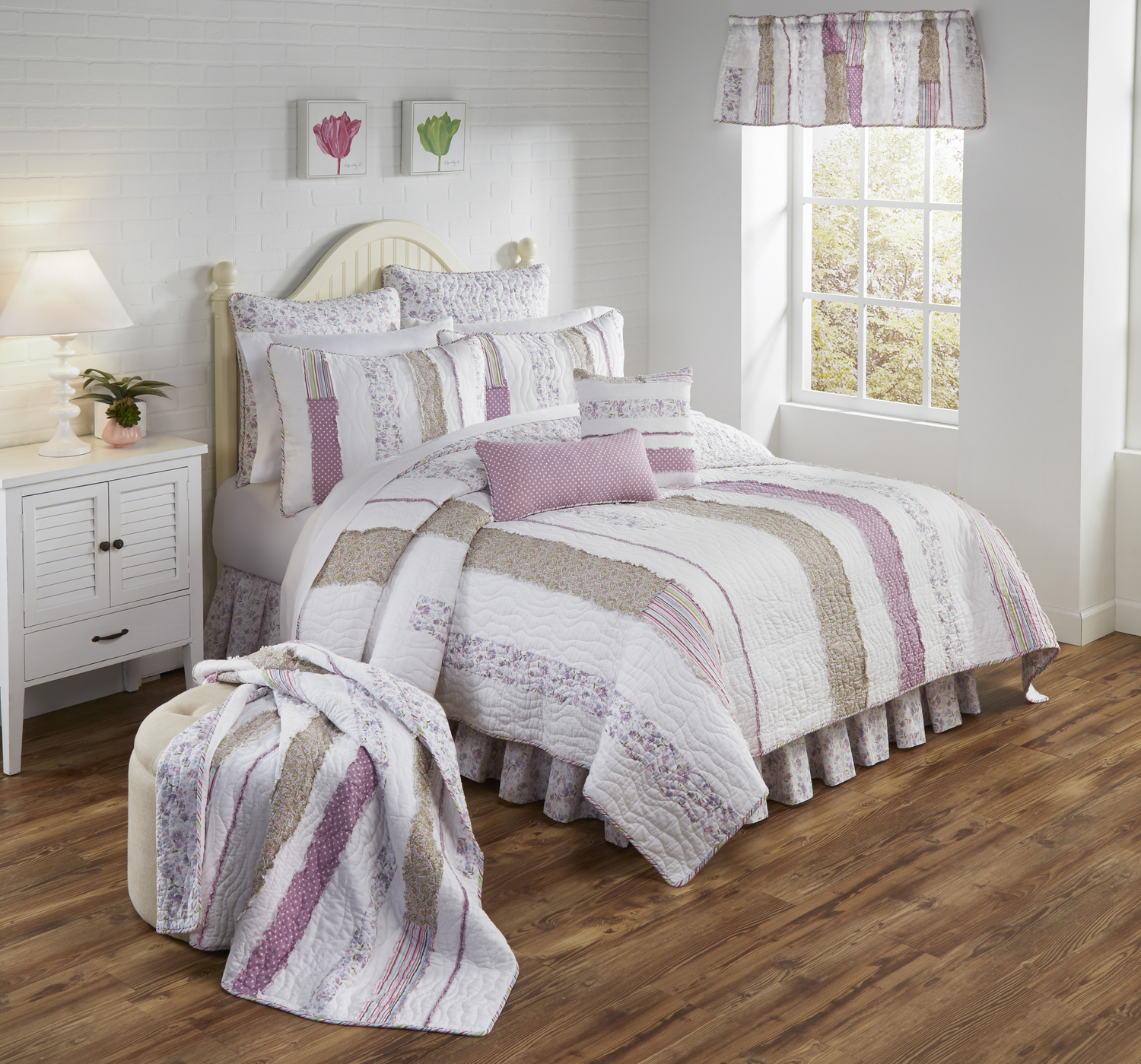 Lavender Rail By Donna Sharp Quilts Beddingsuperstore Com