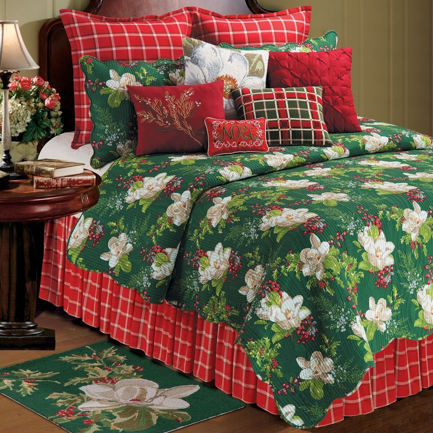 Bella Magnolia By C Amp F Quilts Beddingsuperstore Com