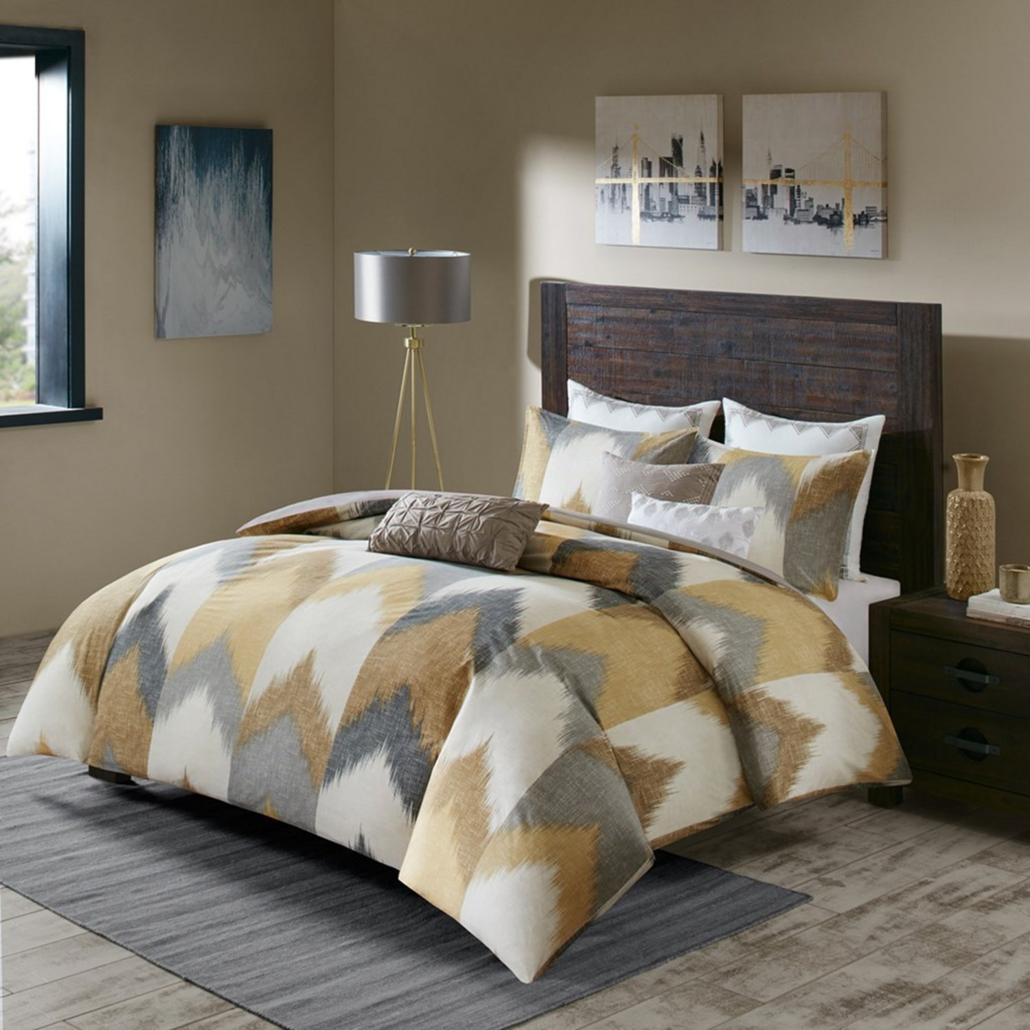 Alpine Yellow By Ink Amp Ivy Bedding Beddingsuperstore Com