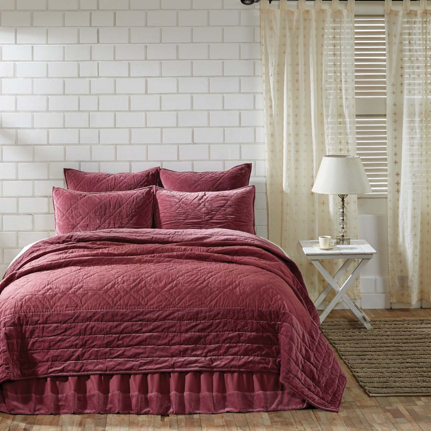 Eleanor Mauve By Vhc Brands Quilts Beddingsuperstore Com