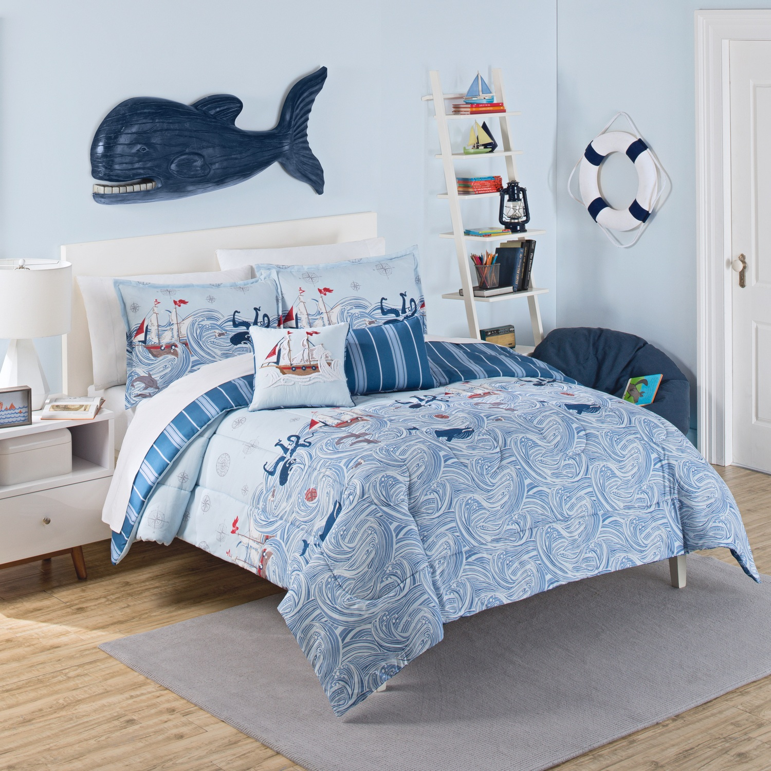 ride the waves by waverly kids bedding collection. Black Bedroom Furniture Sets. Home Design Ideas