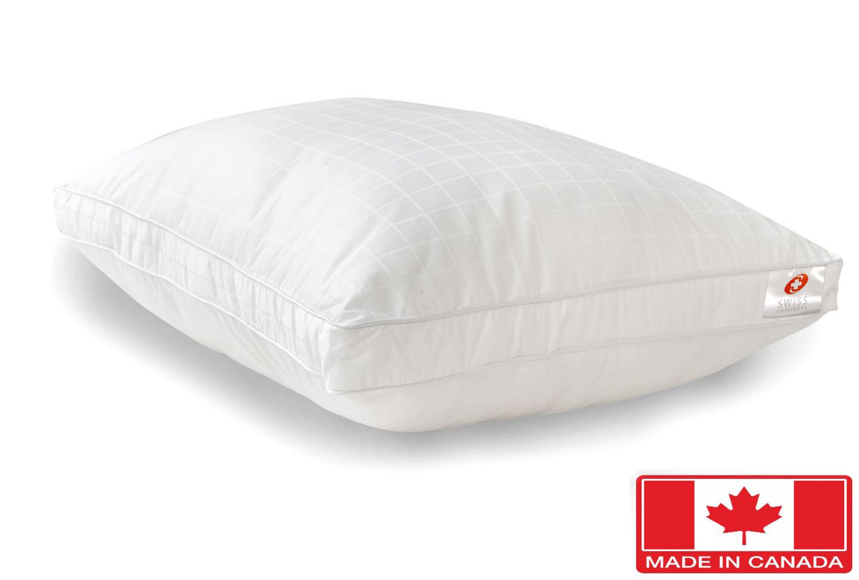 Goose Down Alternative 100 Cotton Pillow By Swiss