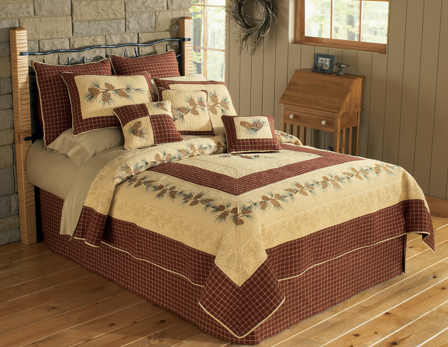 Pine Lodge By Donna Sharp Quilts Beddingsuperstore Com
