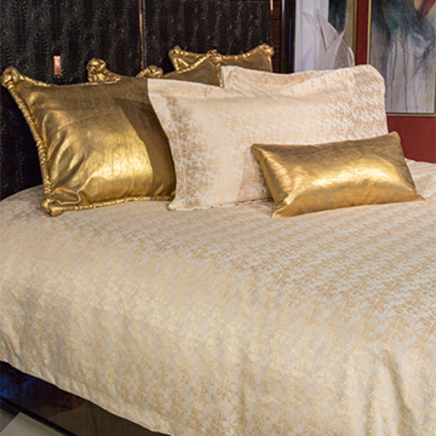 free comforter today product bedding set bath overstock piece bed shipping michael amini imperial