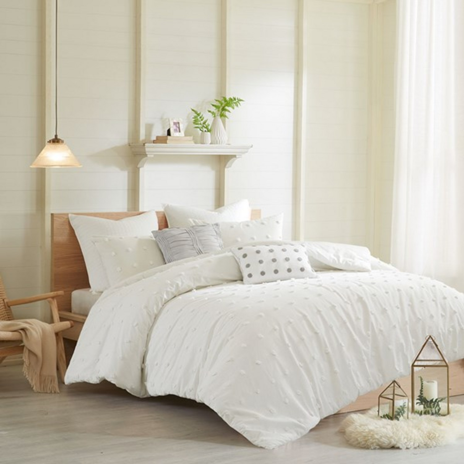 Brooklyn ivory by urban habitat beddingsuperstorecom for Brooklyn bedding store